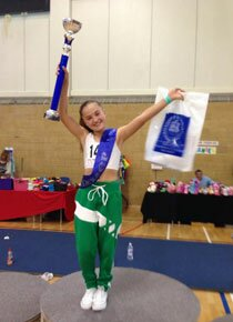 Dancer Alana wins the Grand final at the ISTD national competition