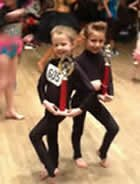 disco freestyle winners at the dance competition in Essex held at Grays