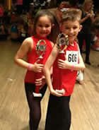 All our dancers danced really well at the Grays competition for dance in Essex