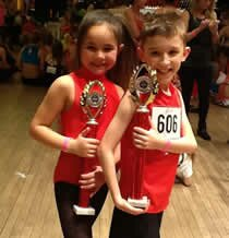 dancers at the ADFP dance competition in Grays Essex