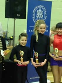a couple of our many winners at the dance comp in Essex held in Southend