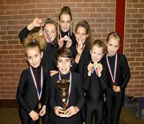 Our dancers at the dance competition in Egham near brentwood in Essex