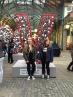 the dancers in covent garden london after the dance workshop at pineapple