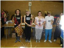 Our dancers lining up with their trophies at the sudbury competition in Suffolk. not far from our dance school based in Colchester Essex