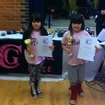 The dance school held a presentation evening in Marks Tey near Colchester in Essex